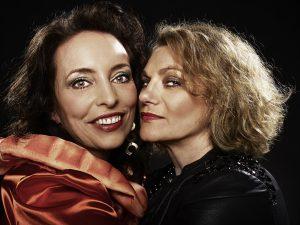 Marianne Blum und Marina Geida